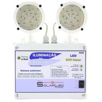 Luminária De Emergência Bloco Autônomo 2000 Lumens