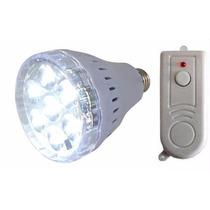 Lampada Luminária Emergência7 Led Controle Remoto 3.5 W
