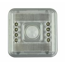 Luminária Sensor De Presença 8 Led
