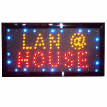 Letreiro Led Painel Luminoso Acaí Lanche Salão Lan House