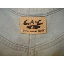 Macacão Da Gang Rio Stretch Jeans Tamanho M