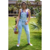 Jardineira Macacão Jeans Disponíveis Nos Tamanhos 36 Ao 46!
