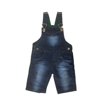 Jardineira Jeans Infantil Masculina