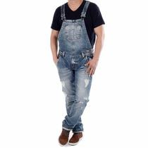 Macacão Jardineira Jeans Sawary Boyfriend