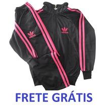 Conjunto Agasalho Adidas Intantil Frete Grátis