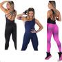 Macacão Feminino Fitness Suplex-tiras -academia -ginastica