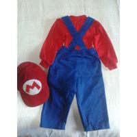 Fantasias Do Mario Bros ,chaves Sobe Medidas 79 Cada