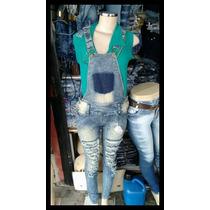 Macacão Jeans Disponíveis Nos Tamanhos 36 Ao 44