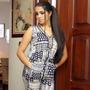 Macacão Longo Estampado Indiano Feminino Exclusivo Tecido