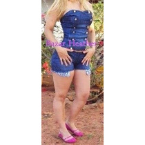 Macacão Jeans Planet Girls