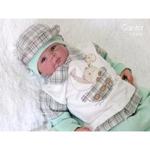 Saída Maternidade Menino Safari Enxoval De Bebê Roupa Bebê