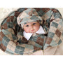 Saída Maternidade Menino Henry Bege Enxoval De Bebê