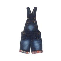 Jardineira Jeans Infantil Masculino