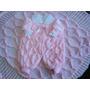 Macacão+manta+camisa Bordada Nene Xale Saida Maternidade Beb