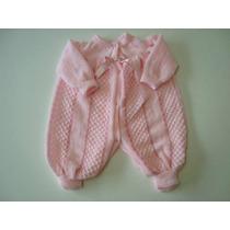 Macacão Lã Bebe Nene Enxoval Tamanho R-n E P Até 4meses