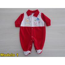Macacão De Bebê Plush Menino - Tamanho M - Preço Imperdivel