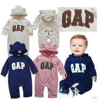 Macacão Importado Baby Gap Ursinho - Pronta Entrega