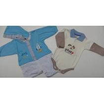 Macacão Infantil Com Touca Tam. G / Grátis1 Body