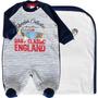 Saída De Maternidade Plush London Baby Classic