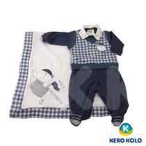 Kit Saída Maternidad Sonho Mágico Luxo Rn 0a2 Mês Kero Kollo