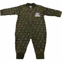 Macacão Longo De Plush Para Bebê Menino Fuscão