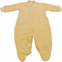 Roupinha Para Bebê Macacão Longo Básico De Plush Infantil