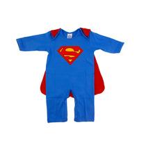 Macacão Bebê Fantasia Superman Frete Grátis Get Baby