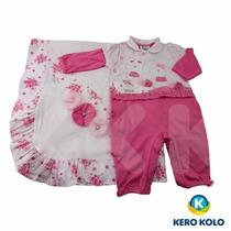 Kit Saída Maternidade C/caixa,sonho Mágico,menina(kero Kollo