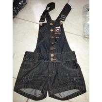 Jardineira Macaquinho Jeans Disponíveis Nos Tam 36 Ao 44