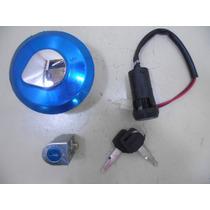 Kit Chave Ignição Cg Titan 125 Fan 09 A 12 Com 3 Peças 21560