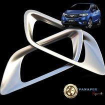 Honda Fit Moldura Prata Interna Maçaneta Acessórios