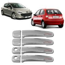 Kit Capa Maçaneta Peugeot 307 02 03 04 05 06 07 08 09 10 11