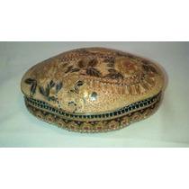 Porta Joia Antigo Pintado A Mão Antiquario Breshopping
