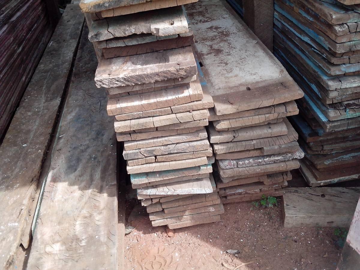 Madeira De Demolição Bruta Ou Beneficiada Diversas Peças R$  #7F5D4C 1200x900