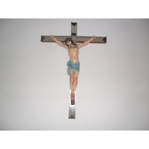 Crucifixo,arte Sacra 70 X 50 Cms , Antiguidade, Raro !!