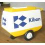 Miniatura Carrinho Kibon - Presente - Decoração - Colecionav