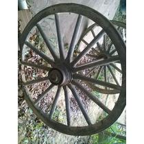 Roda De Carroça Muito Antigo Raridade ( Grande)