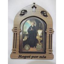 B. Antigo - Oratório Ou Quadro De Parede Imagem De São Bento