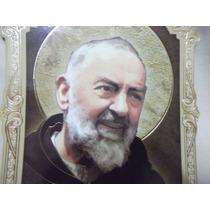 B. Antigo - Oratório De Parede Padre Pio Frete Grátis