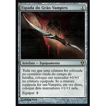 Magic Zendikar (espanhol) - Nº 196 Espada Do Grão-vampiro