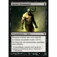 4x Apetite Demoníaco - 4 Cads - Magic - Ascensão Doseldrazi