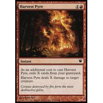 X4 Pira Da Colheita (harvest Pyre) - Innistrad