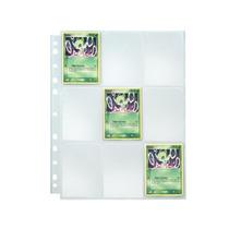 10 Folhas Para Fichário Multifuros 9 Bolsos - Magic, Pokemon
