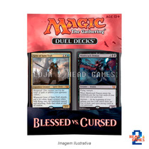 Magic The Gathering Duel Decks Blessed Vs Cursed Original En