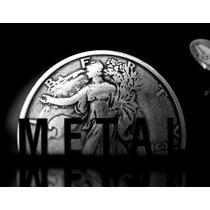 Metal: High Impact Coin Magic Dvd Ellusionist Mágica Moedas