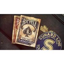 Baralho Bicycle Vintage 1800 Marcado - Ellusionist Mágica