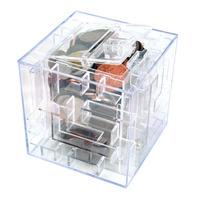 Cofrinho Labirinto Caixa De Presente 3d - Cofre Puzzle