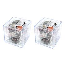 Kit 2 Cofrinhos Labirinto Caixa De Presente 3d- Cofre Puzzle