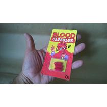 Brincadeira Halloween Capsula Sangue Falso Importada Atoxica