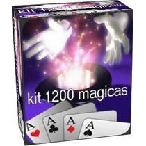 Mega Kit De 1200 Magicas Profissional